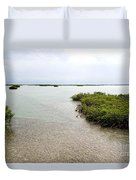 Scenes From Key West Duvet Cover