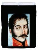 Simon Bolivar (1783-1830) Duvet Cover