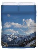 Swiss Alps Duvet Cover