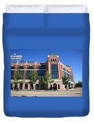 Texas Rangers Ballpark In Arlington Duvet Cover