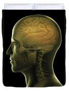 The Human Brain Duvet Cover