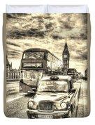 Westminster Bridge London Duvet Cover