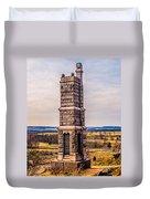 91st Pennsylvania Infantry Monument Duvet Cover