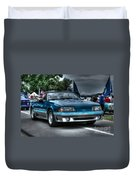 92 Mustang Gt Duvet Cover