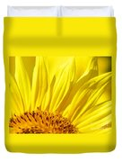 #923 D718 You Are My Sunshine. Sunflower On Colby Farm Duvet Cover