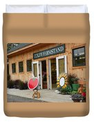#923 D720 Colby Farm Stand Duvet Cover