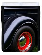 30's Classic Ford Pickup Duvet Cover