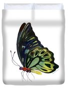 97 Perched Kuranda Butterfly Duvet Cover by Amy Kirkpatrick