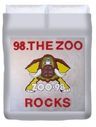 98.the Zoo Rocks Duvet Cover
