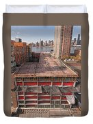 9th Floor Forms Duvet Cover