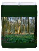 A Badbury Clump Evening Duvet Cover
