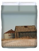 A Barn And A Bin Duvet Cover
