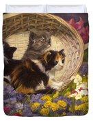 A Basket Of Cuteness Duvet Cover