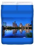 A Beautiful Austin Evening Duvet Cover