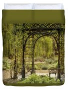 A Beautiful Place To Relax And Reflect Duvet Cover