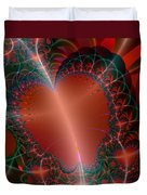 A Big Heart Duvet Cover