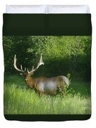 A Big Wide Rack  Duvet Cover