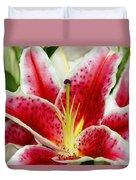 A Blooming Flower Duvet Cover by Raven Regan
