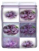 A Bouquet Of Lilacs Duvet Cover