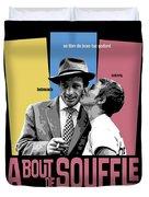 A Bout De Souffle Movie Poster Duvet Cover