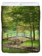 A Bridge To Peacefulness Duvet Cover