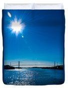 a Bridge with Flare Duvet Cover