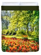 A Bright Day Duvet Cover