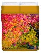 Autumn In Yountville, California Duvet Cover