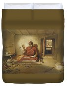 A Buddhist Monk, From India Ancient Duvet Cover