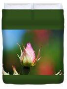 A Budding Rose Duvet Cover