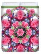 A Burst Of Bromeliad Duvet Cover