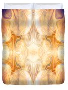 A Burst Of Light Abstract Living Artwork By Omaste Witkowski Duvet Cover