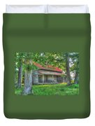 A Cabin In The Woods Duvet Cover