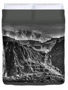 A Canyon Storm Duvet Cover