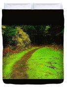 A Carpted Path Duvet Cover