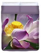 A Casual Water Lily Duvet Cover