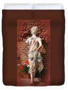 A Cheeky Autumn  Duvet Cover