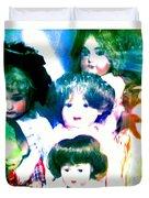 A Chorus Of Dolls - Toy Dreams 4 Duvet Cover