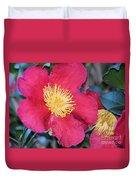 A Christmas Blossom Duvet Cover