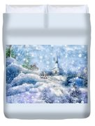 A Christmas To Remember Duvet Cover