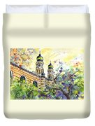 A Church In Budapest 01 Duvet Cover
