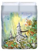 A Church In Budapest 02 Duvet Cover