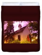 A Church In Prosser Wa Duvet Cover