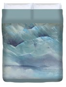 A Cold Day Duvet Cover