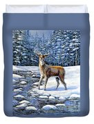 A Cold Drink Duvet Cover