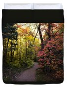 A Colorful Path  Duvet Cover