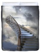 A Composite Entitled Staircase Duvet Cover by Robert Bartow