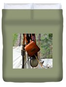 A Confederate Soldiers Life Duvet Cover