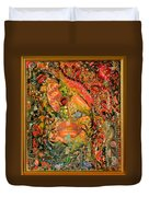 A Cosmic Taste Of Healing Duvet Cover