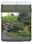 A Cosy Hobbit Home In The Shire Duvet Cover